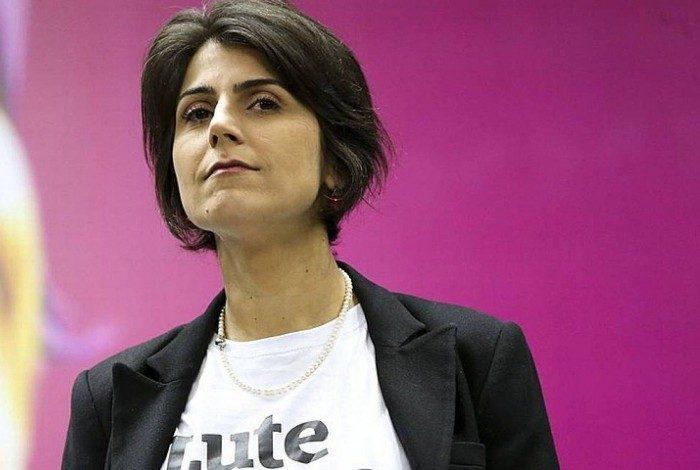 Candidata à prefeitura de Porto Alegre Manuela D'Ávila (PCdoB)