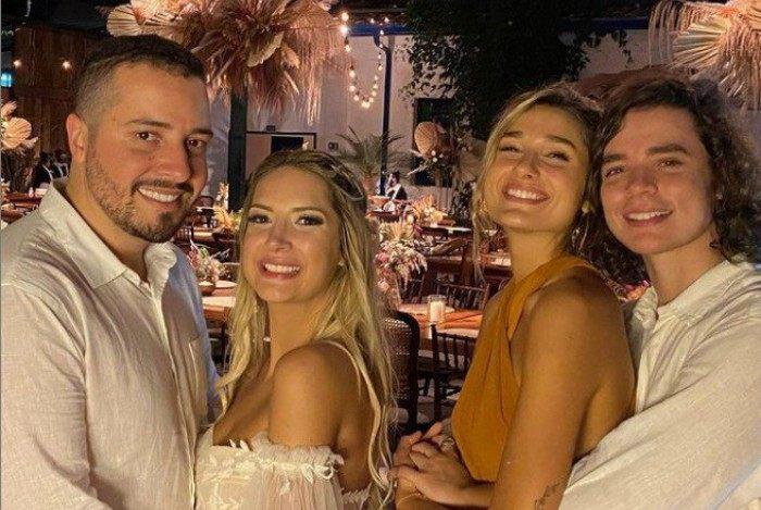 Isaias Saad, Vitória Eisfeld, João Figueiredo e Sasha