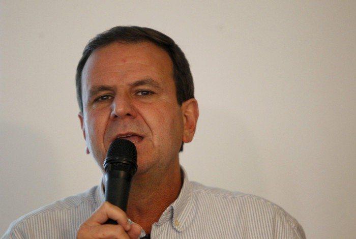 Prefeito eleito Eduardo Paes (DEM)