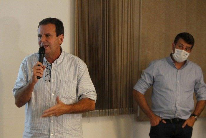 Futuro secretário Municipal de Saúde, Daniel Soranz, foi apresentado pela prefeito eleito Eduardo Paes