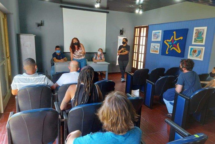 Objetivo da reunião foi planejar edital do 2º Prêmio de Grafites
