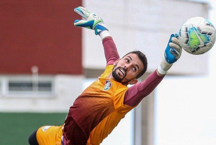 Marcos Felipe - 10/10/2020 - CT do Fluminense