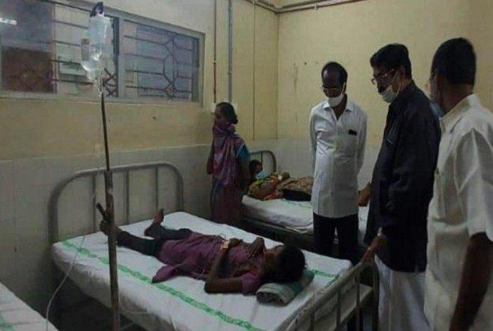 Até o momento, uma pessoa morreu e centenas foram hospitalizadas