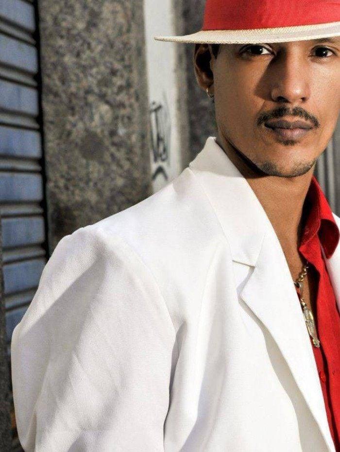 Jeff Duarte é ator e se apresenta como o 'Malandro Encarnado' em gafieiras e espetáculos