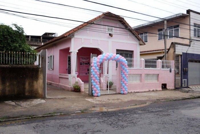Casa Rosa fica na Rua Santos Dumont, nº 182, no Centro.