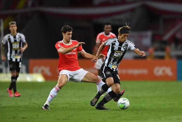Botafogo foi derrotado em Porto Alegre
