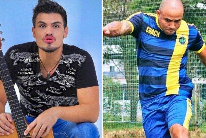 Renê Thristan é fruto da relação de Ricardo Alves Fernandes, o Ricardinho, com ex-bailarina do Bolinha
