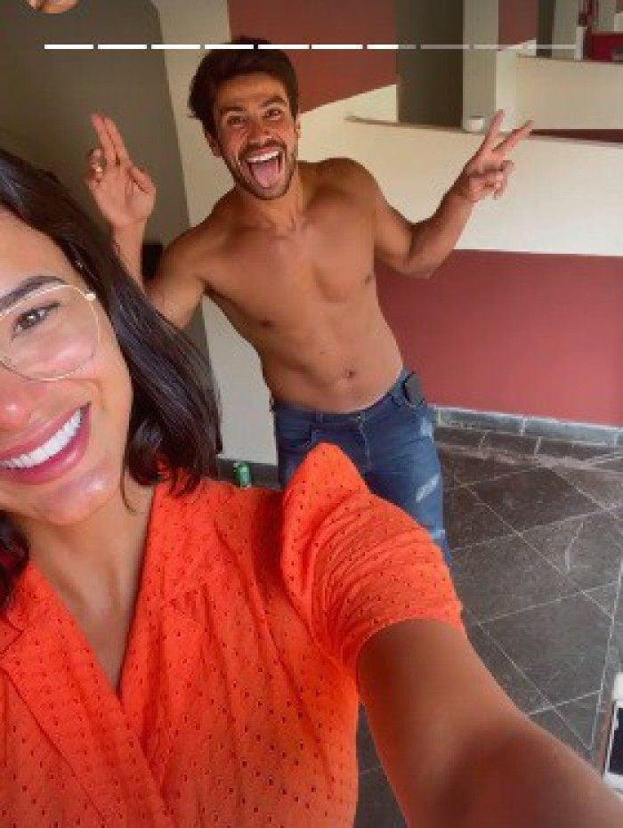 Jakelyne Oliveira e Mariano