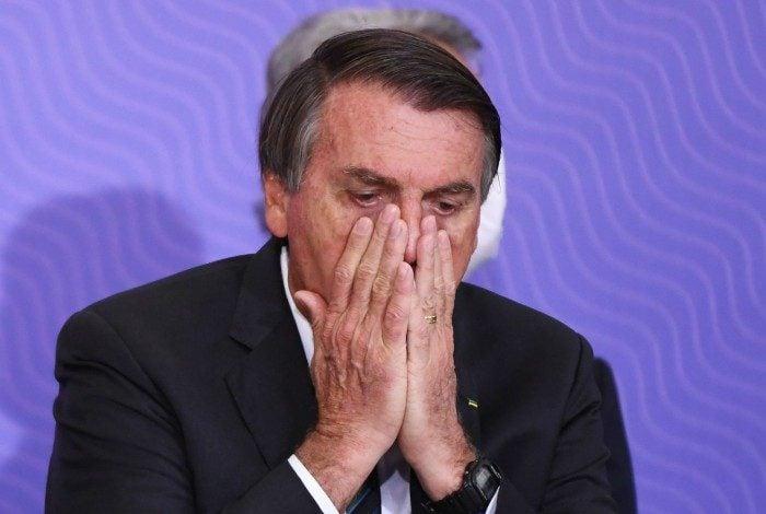 O presidente Jair Bolsonaro reiterou que não vai tomar a vacina