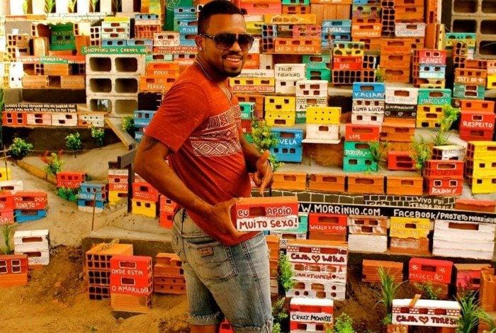 Cirlan Oliveira é cria da Favela Pereira da Silva, que fica entre Laranjeiras e Santa Teresa