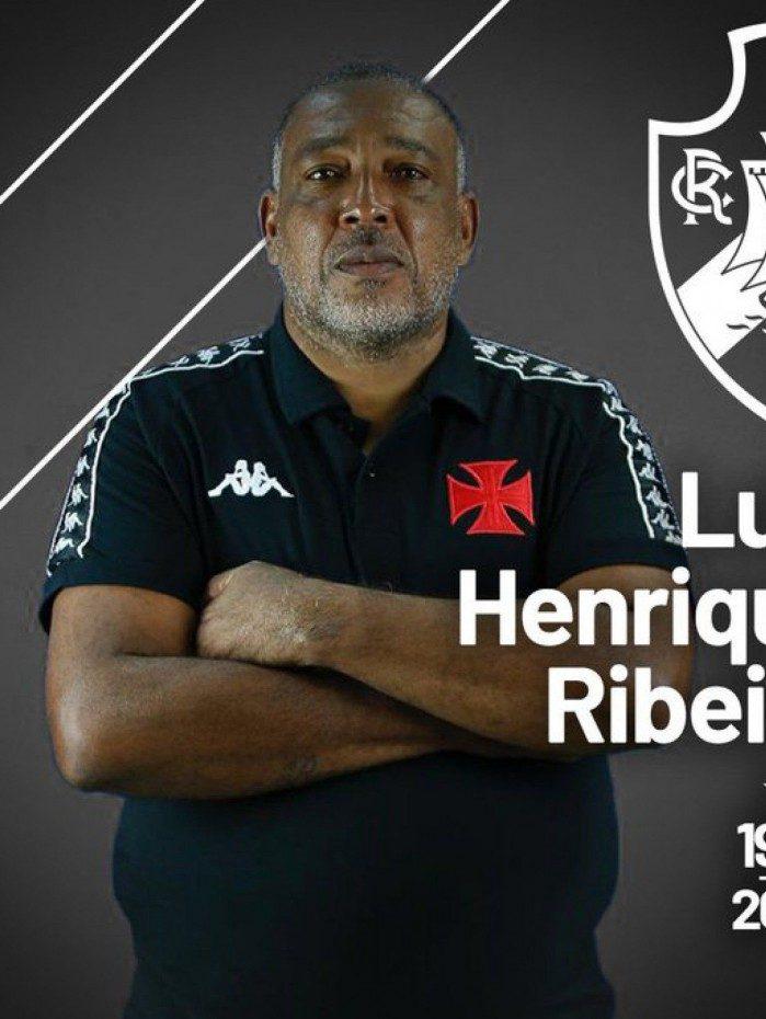 Luiz Henrique Ribeiro, conhecido pelos garotos da base vascaína como Henricão, morreu por complicações da Covid-19