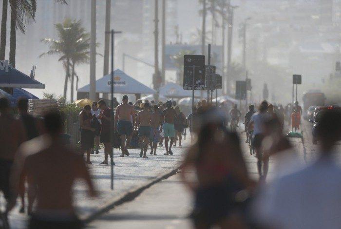 Prefeitura do Rio libera as orlas da Zona Sul para lazer e estacionamento