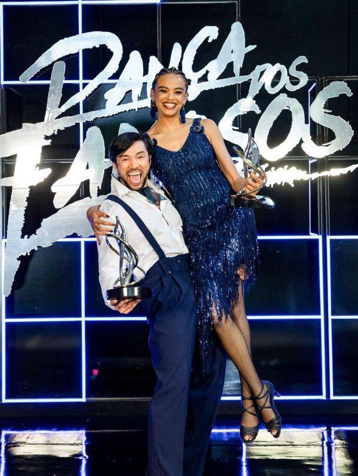 Lucy Ramos e Reginaldo Sama