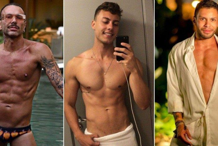 Matheus Mazzafera, Anderson Assumpção e Kaique Oliveira