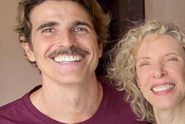 Reynaldo Gianecchini e Marília Gabriela se reencontram para entrevista