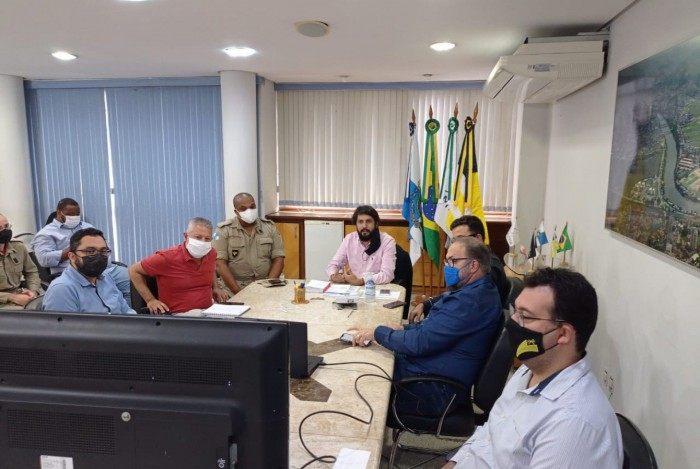 Força-tarefa realiza reunião para alinhar fiscalizações de medidas de combate à covid-19 em Volta Redonda