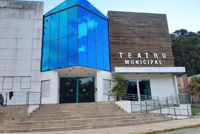 Teatro Municipal Laercio Ventura, no centro de Nova Friburgo