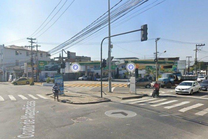 Tentativa de assalto ocorreu na esquina das ruas  Couto de Magalhães e São Luiz Gonzaga