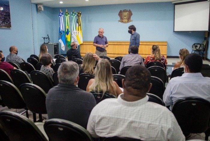Reunião de transição de governo em Volta Redonda