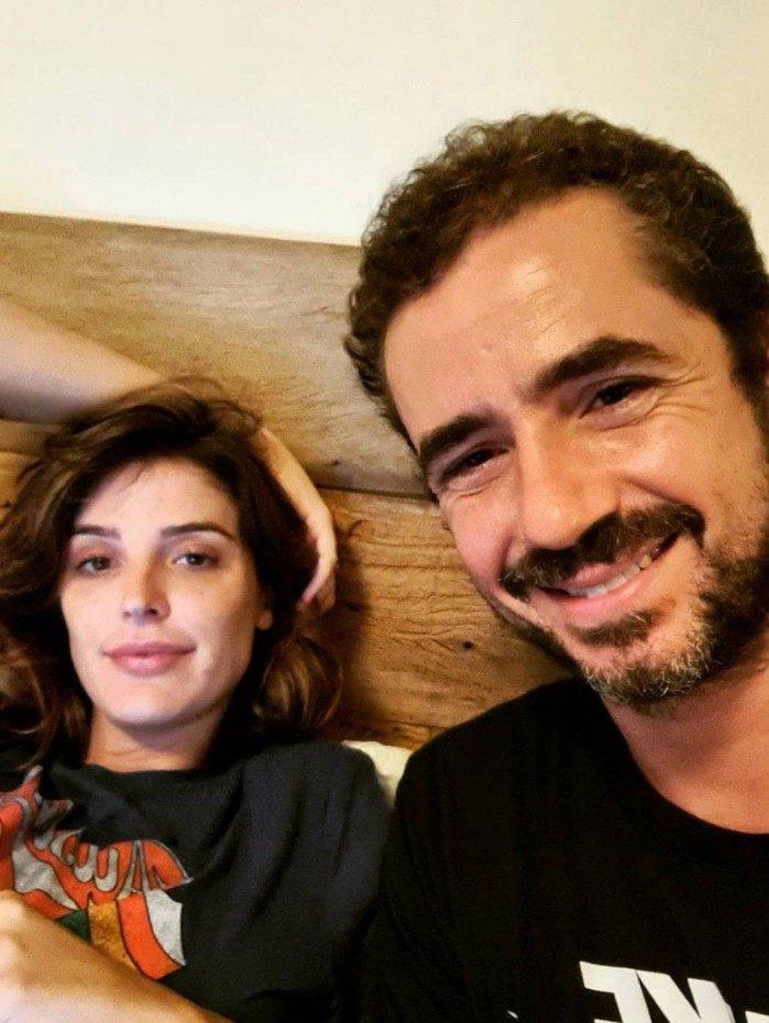Felipe Andreoli e Rafa Brites
