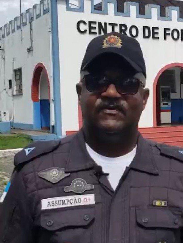 Batalhão de Pádua postou em suas redes sociais comunicado lamentando a pedra do policial tido como exemplo pela PMERJ.