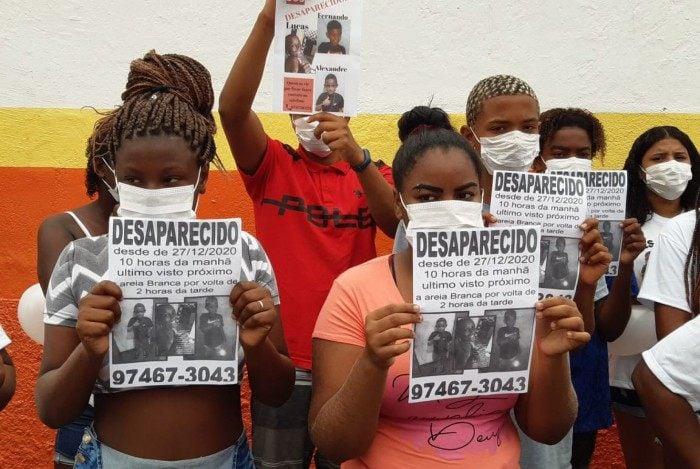 Polícia Civil já fez buscas em mais de 40 localidades atrás dos três meninos