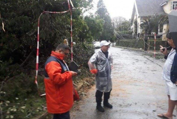 Defesa Civil registrou mais de 100 ocorrências na cidade após as chuvas