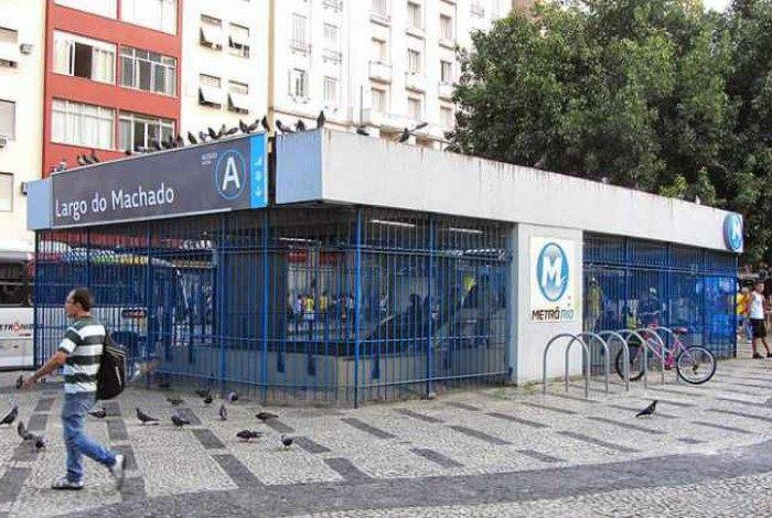 Estação de Metrô do Largo do Machado