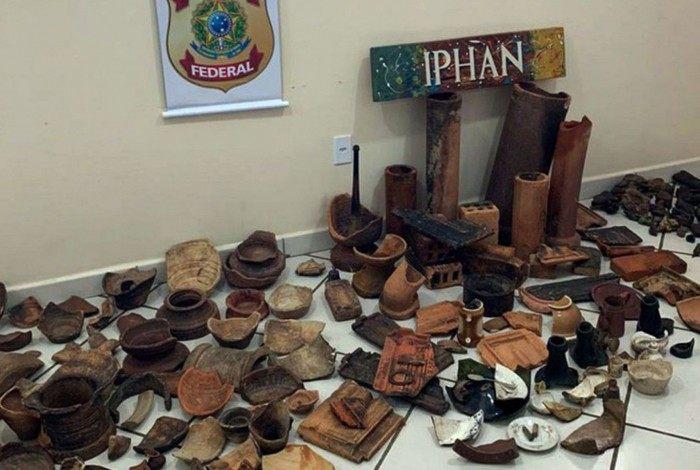 Iphan e Polícia Federal resgatam material arqueológico no Acre