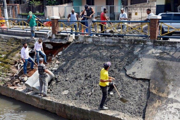Prefeitura de Volta Redonda reforma trecho do Córrego Secades
