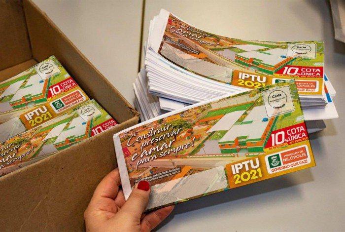 Nilópolis começa a distribuir os carnês do IPTU 2021 a partir do dia 8 de março