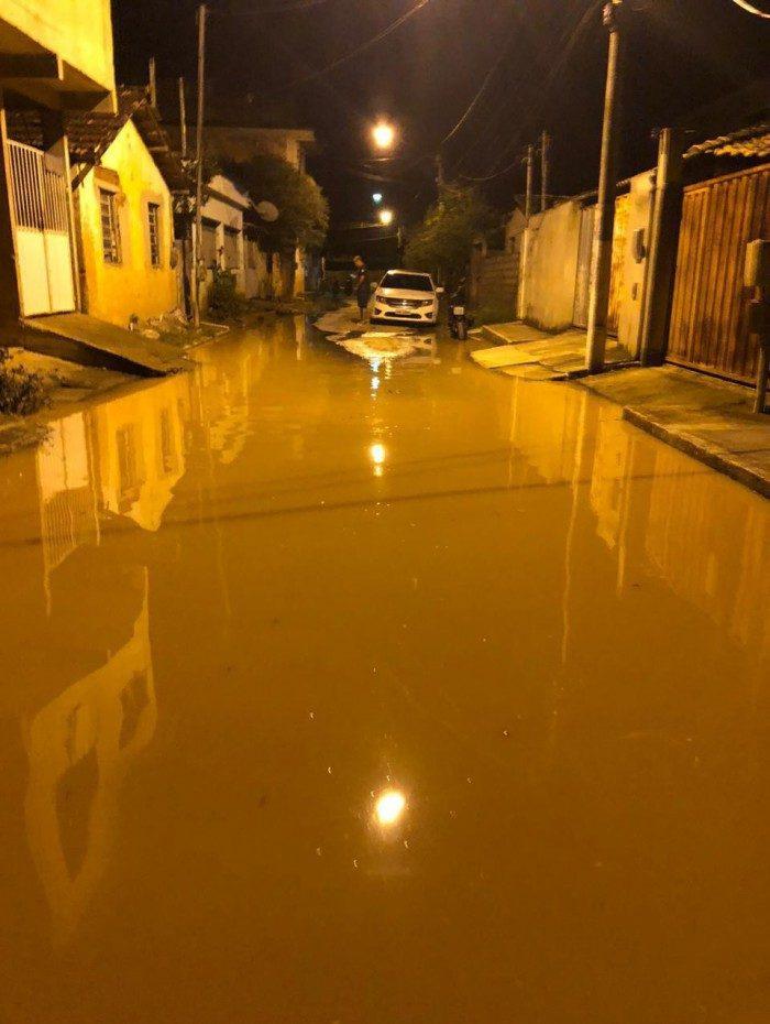 Águas do Rio Muriaé tomam conta de mais ruas, em Itaperuna, no Noroeste |Fluminense; distrito de Retiro do Muriaé com mais pontos de alagamentos.