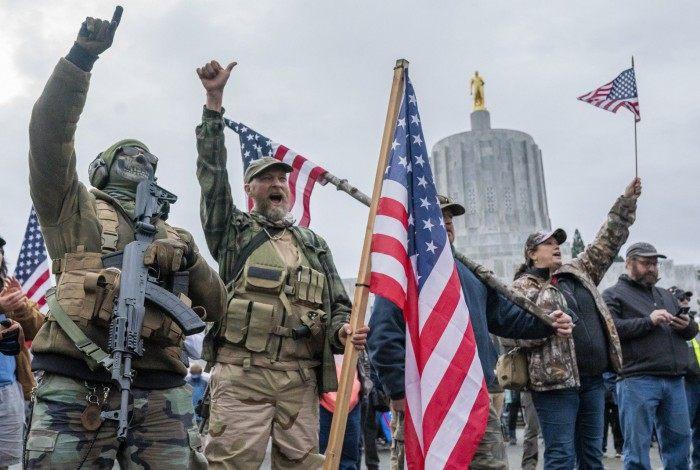Invasão no Capitólio, nos EUA