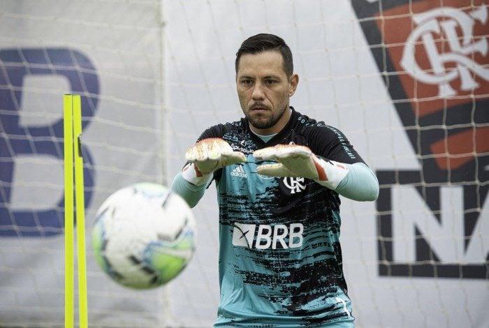 Diego Alves desfalcou o Flamengo nas últimas três rodadas do Brasileiro