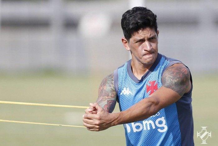 Gérman Cano é a aposta ofensiva do Vasco
