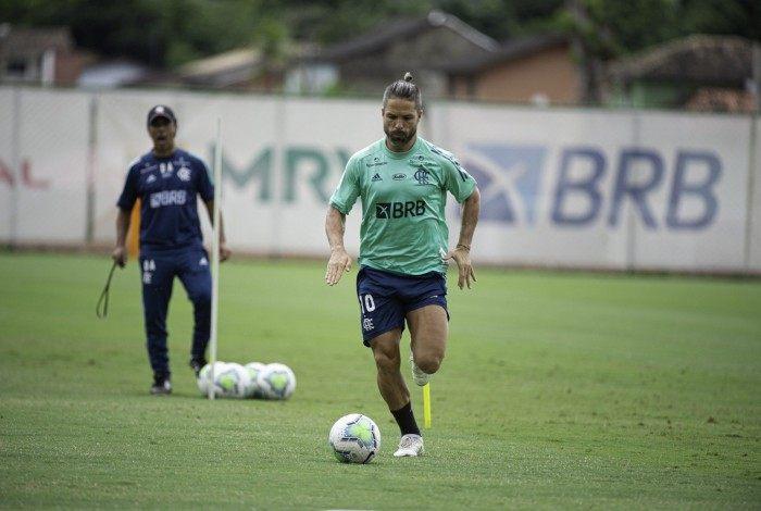 Diego Ribas, meia do Flamengo