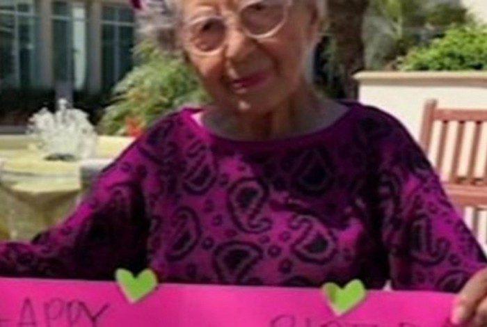 Margaret completaria 106 anos em cerca de três meses