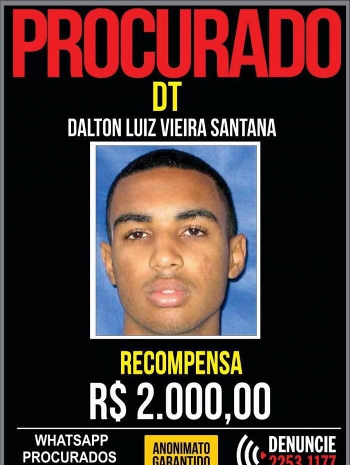 Dalton Luiz Vieira Santana, de 31 anos