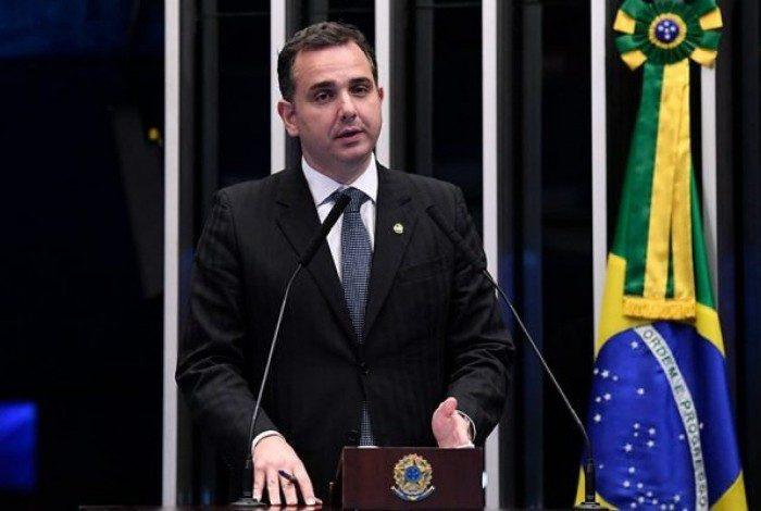 Novo presidente do Senado, Rodrigo Pacheco (DEM-MG)