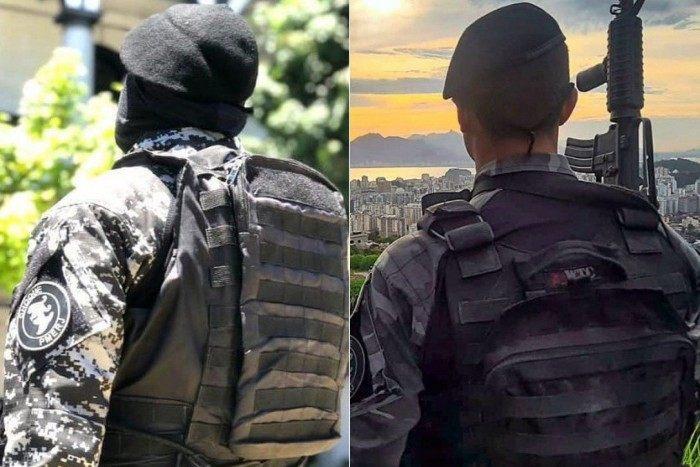 O novo uniforme (à esquerda) e o atual (à direita)