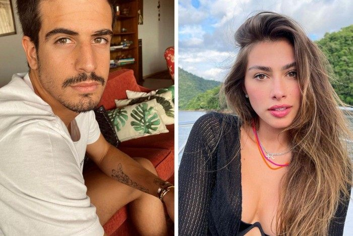 Enzo Celulari e Gabriella Leni