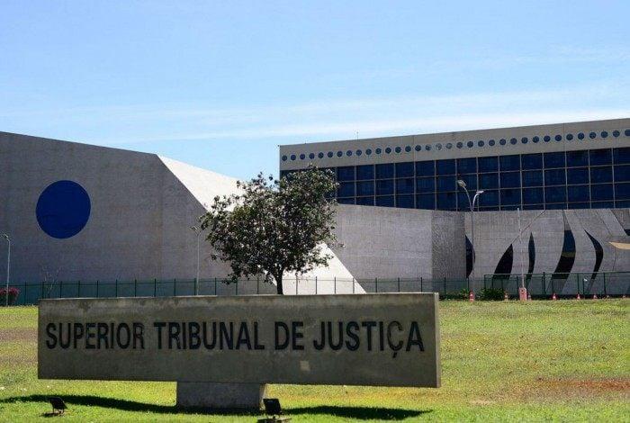 .Fachada do edifício sede do  Superior Tribunal de Justiça (STJ)