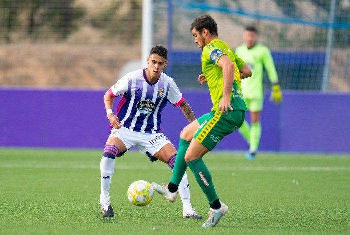 Lucas Freitas em ação pelo Real Valladolid