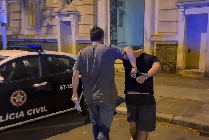 Adriel Souza da Silva, conhecido como Tubarão, foi preso nesta sexta-feira