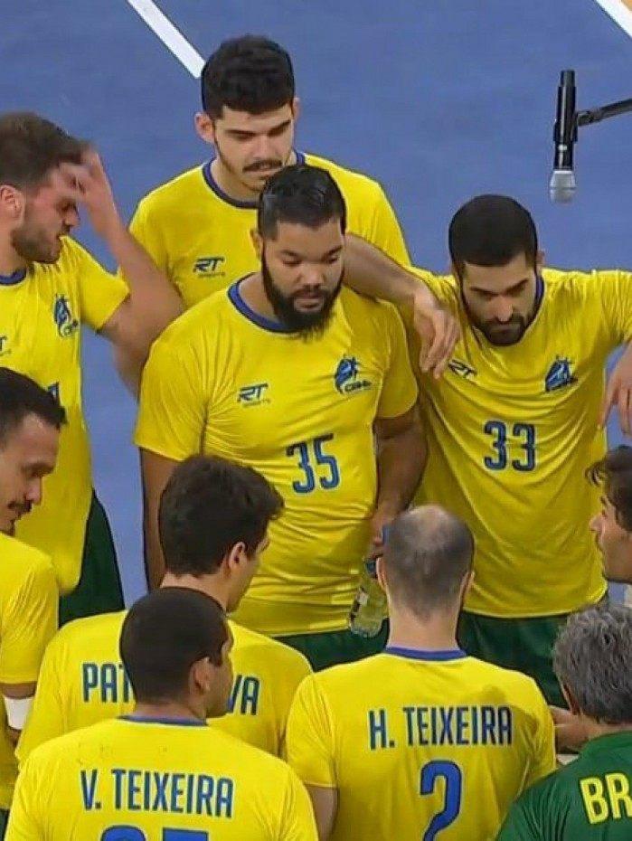 Seleção não joga bem, perde a terceira seguida e segue sem vencer no Mundial de Handebol do Egito