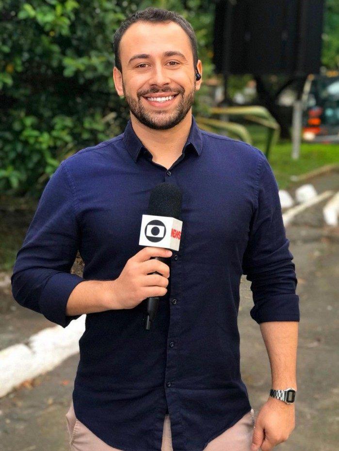 Rômulo D'Avila, repórter da Globo