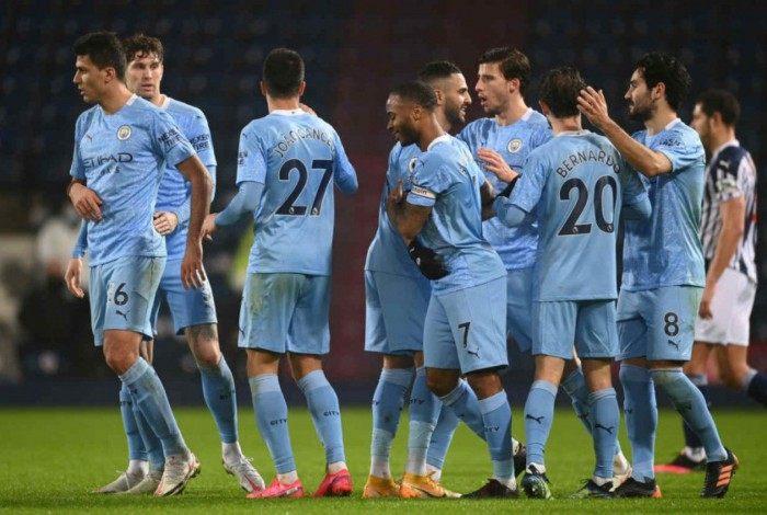 Manchester City não tomou conhecimento do West Brom jogando fora de casa