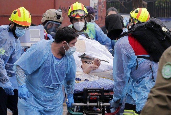 Incêndio em hospital no Chile força evacuação de pacientes