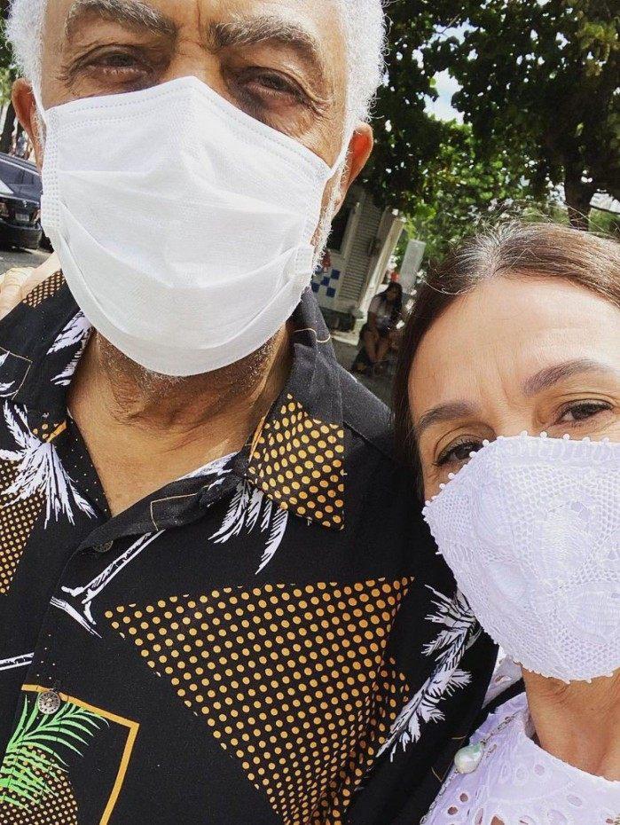 Gilberto Gil e Flora Gil
