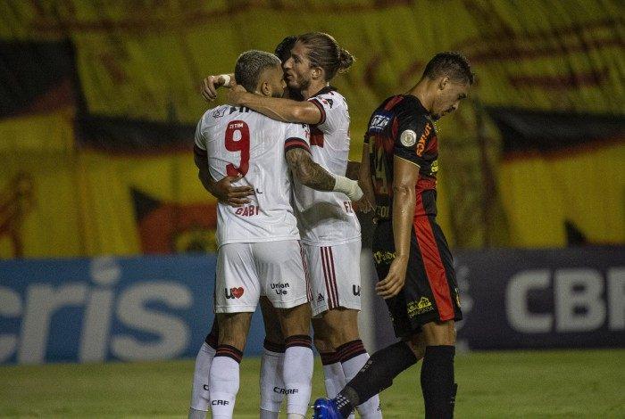 Partida entre Flamengo e Sport